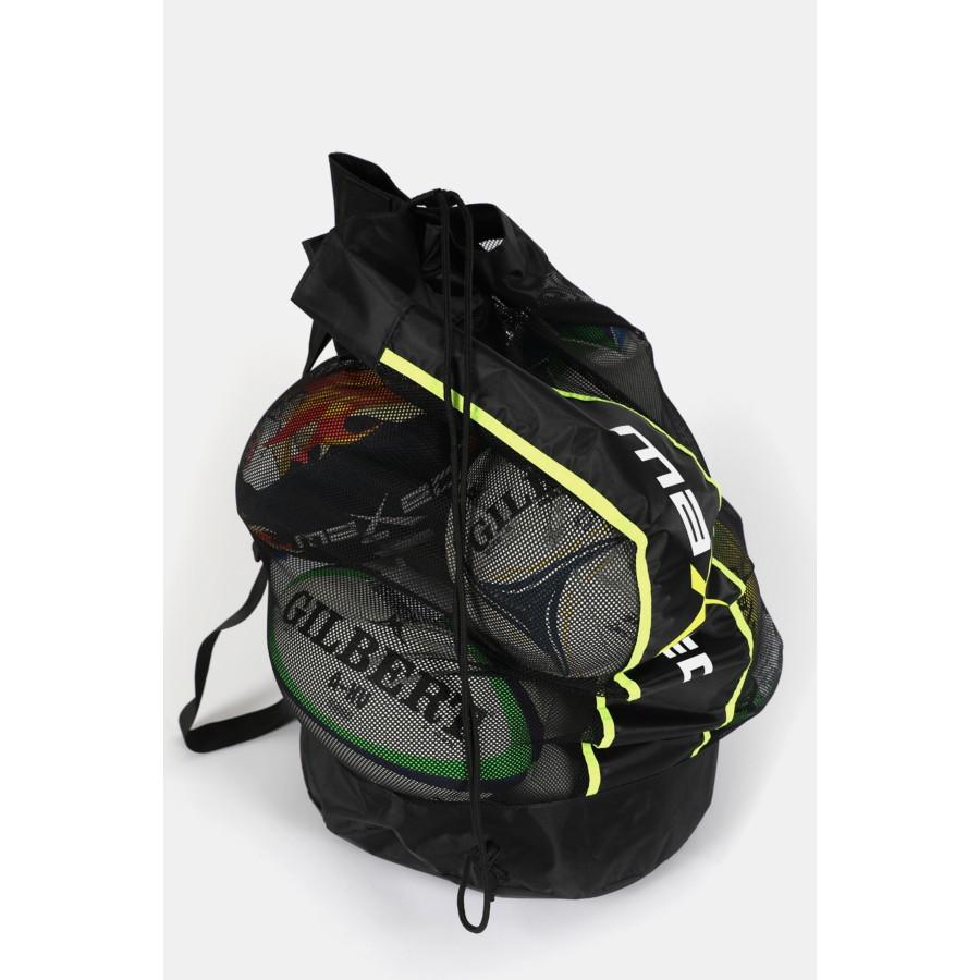 Mesh Ball Bag Netball Action