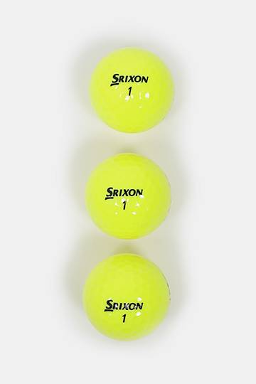 Soft Feel Golf Balls - Tour Yellow