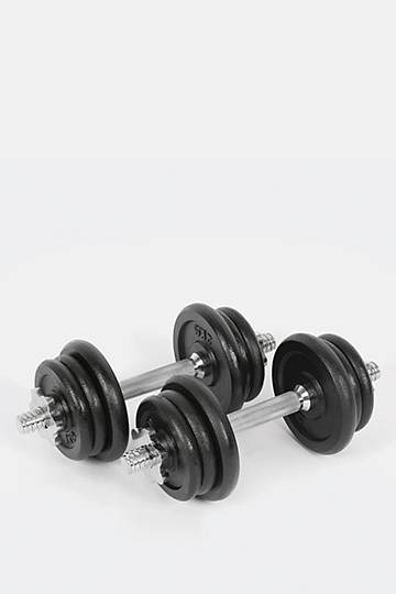 20kg Iron Dumbbell Set