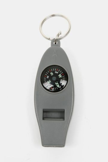 3-in-1 Compass Keyring