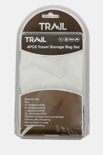 4-piece Travel Storage Bag Set