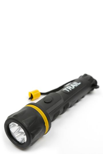 3 Led Rubber Torch