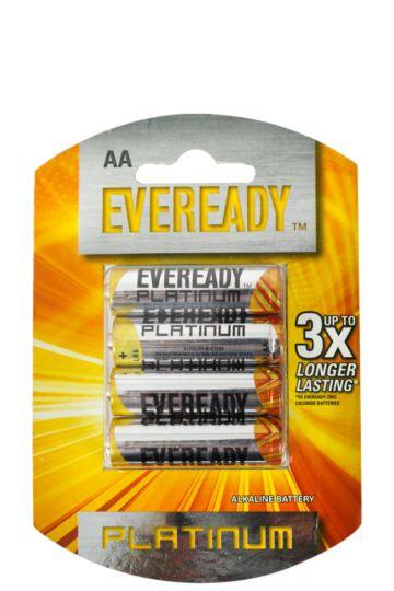 Alkaline Plus Aa Batteries-4 Pack