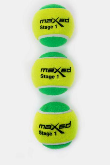 3-pack Stage 1 Tennis Balls