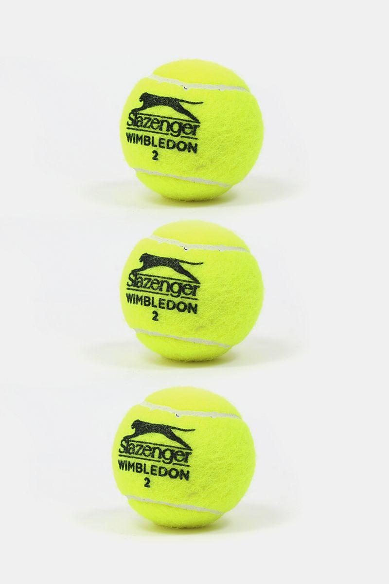 5fc22122bb 3-pack Wimbledon Tennis Ball - Racquet - Individual Sports