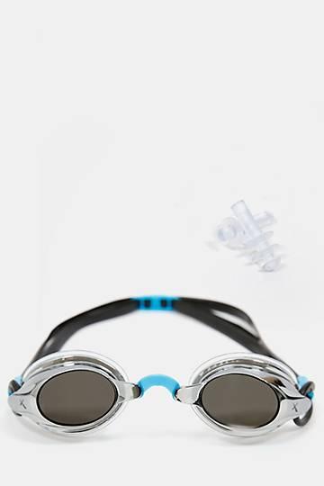 Proracer Silver Swimming Goggles