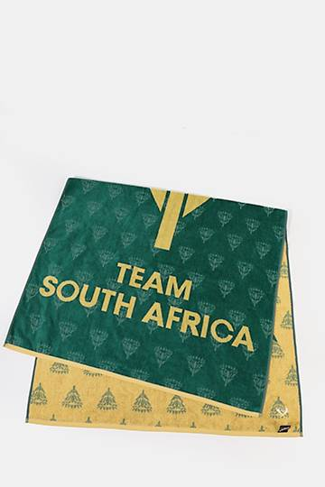 Team South Africa Beach Towel