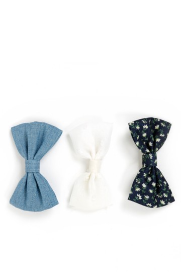 3-pack Bow Clips