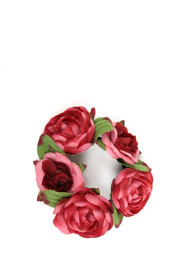 Floral Bun Holder