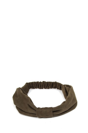 Faux Suede Headband
