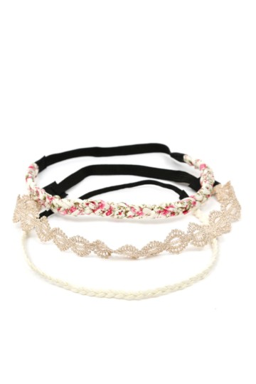 3-pack Hairbands