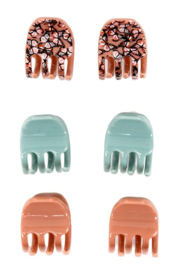 6-pack Claw Clips