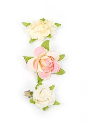 3-pack Flower Clips