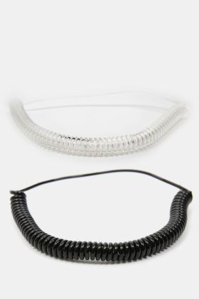 2-pack Spiral Headbands