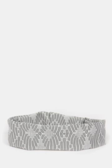 Printed Jacquard Knit Headband
