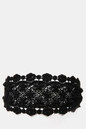 Wide Lace Headband