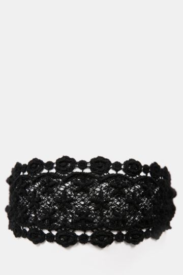Wide Lace Headband