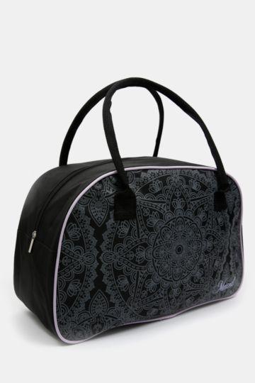 Zip-up Bowler Bag