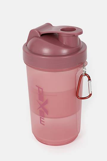 600ml Compartment Shaker Bottle