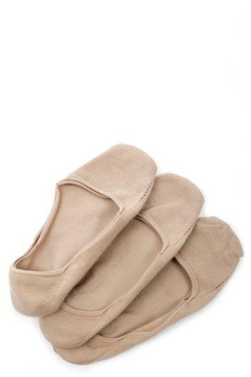 3-pack Seamless Secret Socks 4-7