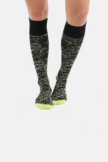 Animal Print Field Socks
