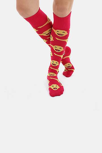 Emoji Field Socks