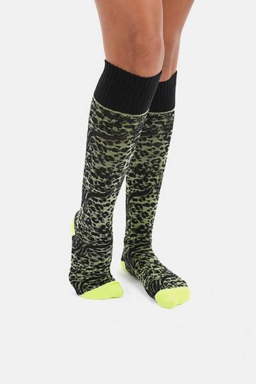 Animal Print Field Socks