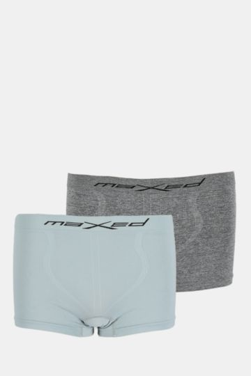 2-pack Seamless Knit Boxer Briefs