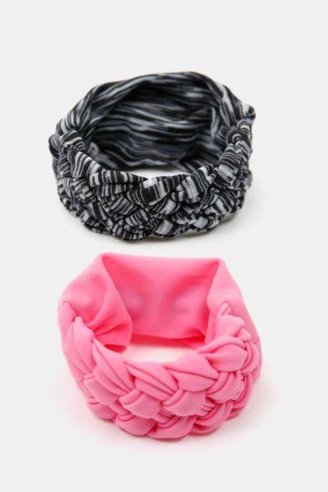 2-pack Braided Ponyo Sweatbands