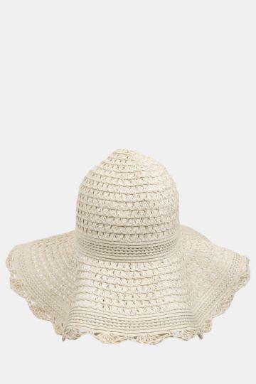 Straw Widebrim Hat