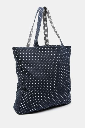 Polka Dot Reversible Shopper