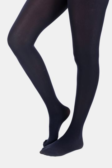 Opaque Tights - Navy