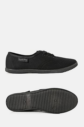 Lace-up Plimsole